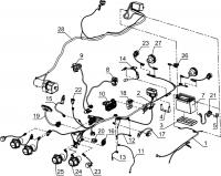 Электрооборудование мотовездехода (до 25.05.13)