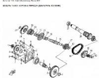 Модуль 114631: Коробка передач (двигатель SQ188MR)