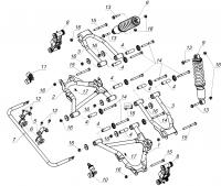 Подвеска задняя (с 25.05.13)