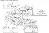 Модуль 114301: Подвеска задняя