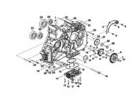 Двигатель (Картер правый)