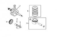 Двигатель (Вал коленчатый)