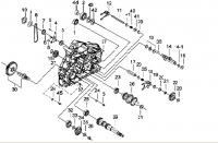 Двигатель (Картер левый 2)