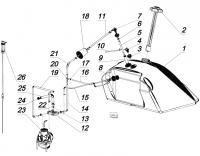 Система питания двигателя KOHLER CH 740-3201