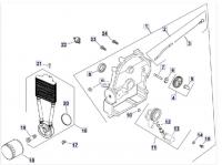 Система смазки двигателя KOHLER CH 740-3201