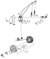 Система зажигания двигателя KOHLER ЕCH 749-3041