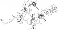 Тормоза задние (до 25.05.13)