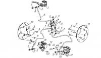Тормоза передние (до 25.05.13)