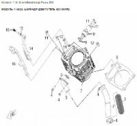 Модуль 114623: Цилиндр (двигатель SQ188MR)