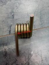 Пружина 8 мм короткая левая